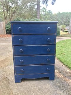 Chest of Drawers-chalk painted