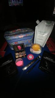 YUMI KIM TRAVEL BAG, FOREO LUNA FACE MASSAGER, CLEANSING MASKS