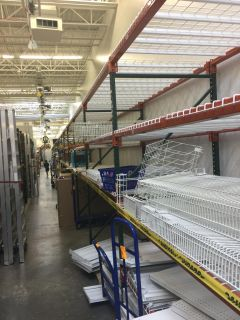 Like New Pallet Racking for Sale!!!