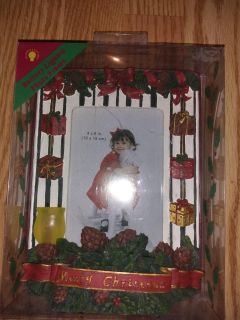Lighted picture frame new in box