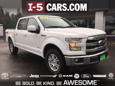 2017 Ford F-150 Lariat (White)