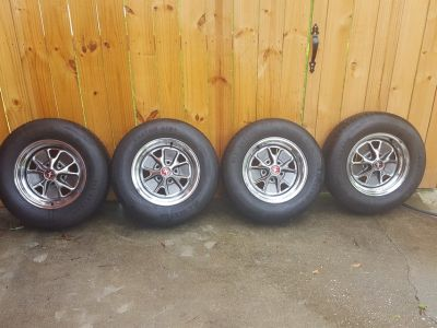 Set of 4 Custom Mustang Rims Classic Mustang
