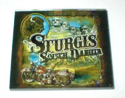 Sturgis South Dakota Fridge Magnet - Harley Motorcycle Buffalo Mount Rushmore