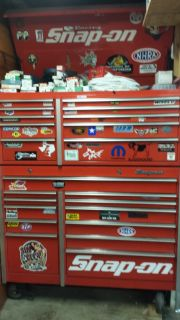 Snap On Tool Box - Stocked with Snap on Tools