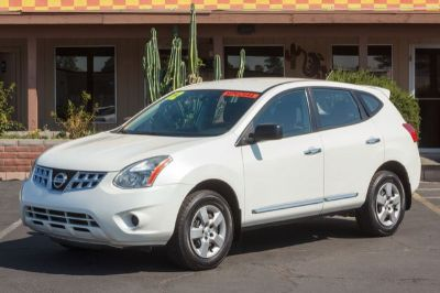 2012 Nissan Rogue S (WHITE)