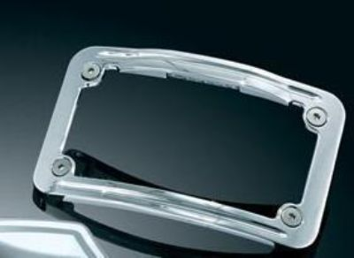 Purchase KURYAKYN CURVED LIGHTED L.E.D. LICENSE PLATE FRAME 4 HARLEY DAVIDSON 3144 motorcycle in Gambrills, Maryland, US, for US $56.03
