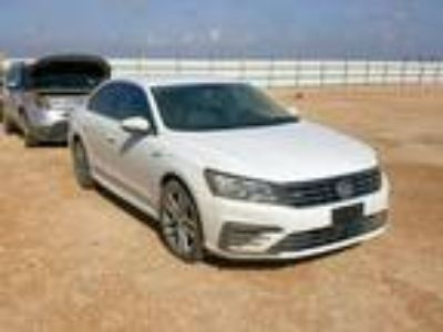 Salvage 2017 VOLKSWAGEN PASSAT R-LINE for Sale