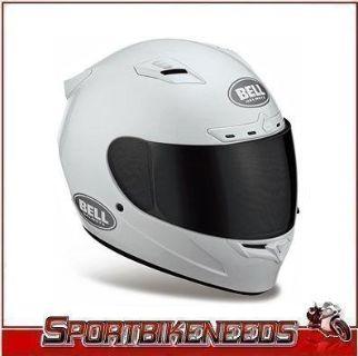 Purchase BELL VORTEX GLOSS WHITE SOLID HELMET SIZE M MEDIUM FULL FACE STREET HELMET motorcycle in Elkhart, Indiana, US, for US $179.95
