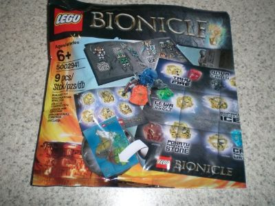 Lego #5002941 Bionicle Hero Pack polybag NEW
