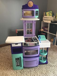 Little Tikes Cook n Store Kitchen Play Set