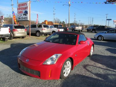 2004 Nissan 350Z Enthusiast (Red)