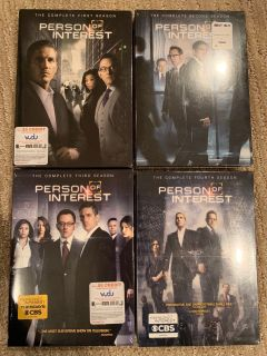 Person of Interest Seasons 1-4 - BRAND NEW