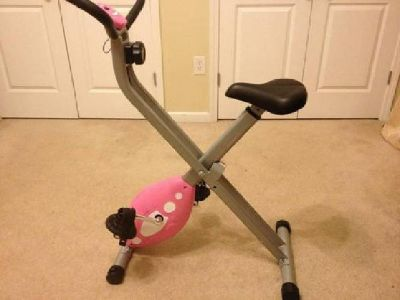 $50 LIKE NEW Gently Used Sunny Folding Recumbent Bike