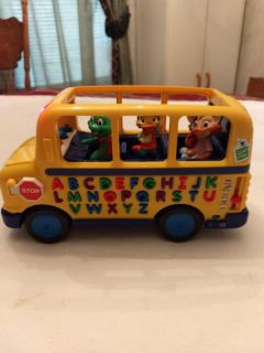 Leap Frog learning school bus with friends
