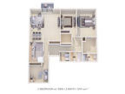 Sherwood Crossing Apartments & Townhomes - Two BR Two BA Den