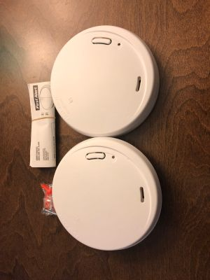 Two smoke alarms - First Alert Model p1210