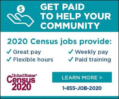 2020 Census Jobs-Los Angeles County $18.00