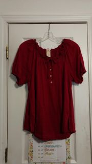 EUC, lightweight poly, cotton-top by Faded Glory. Size 1X (16W) Asking $3.00.
