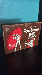 let's play football action games by dmr two players or two teams card game