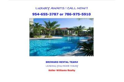 PEMBROKE PINES LUXURY APARTMENT HOME