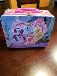My little pony lunchbox with puzzle