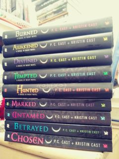 House of night series/novels