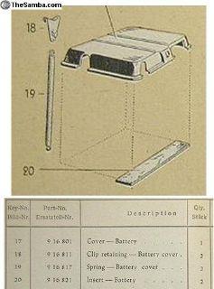 Battery mat set - split & oval factory spec