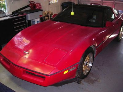 1986 Corvette, zz4 w/5 speed