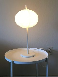 IKEA Solleftea Table lamp with LED bulb, warm light, high efficiency