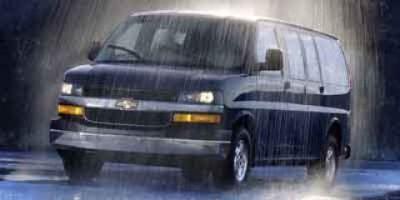 2004 Chevrolet Express Passenger VAN 1500 REG WB (Light Pewter Metallic)