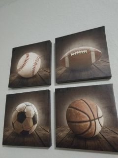 Vintage Sports Canvases