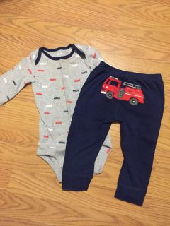 Carters 12mo outfit