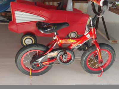 Lightening McQueen toddler bike