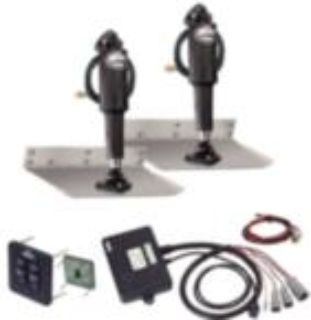 "Purchase New Lenco 9"" x 12"" Stainless Steel Trim Tab Boat Leveler Set w/ Switch 15104-102 motorcycle in Spring Hill, Florida, US, for US $639.95"