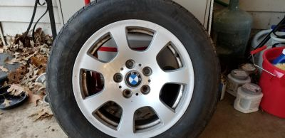 Wheel and tire BMW 225/55 r16