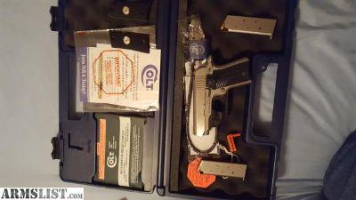 For Sale: Colt Mustang Pocketlite .380 with colt lasermax