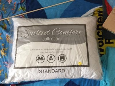 Brand new Standard size bed pillow