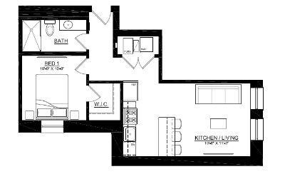 NEW CONSTRUCTION BUILDING - Rooftop with TV - SS Appliances - Luxury Living!