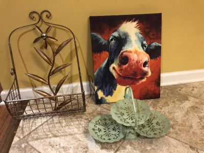 3 Piece Home Decor Set (Selling As A Set Only)