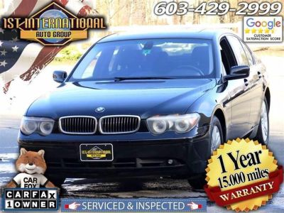 2004 BMW 7-Series 745i (Black)