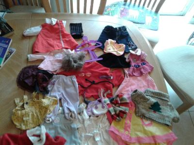 Lot of Doll clothes