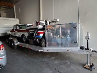 24 ft Custom Alum Trailer Excellent Conditon