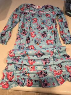My Little Pony Full Length Night Gown Size 10