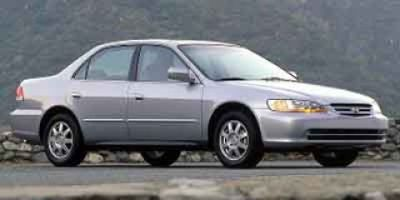 2002 Honda Accord LX (White)