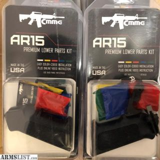 For Sale: NEW CMMG PREMIUM AR-15 LOWER PARTS KIT