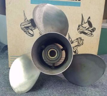 Find NOS OEM Quicksilver Mercury/Mercruiser 13.75 X 21 Stainless Propeller 48-16318A4 motorcycle in Scottsville, Kentucky, United States, for US $249.00