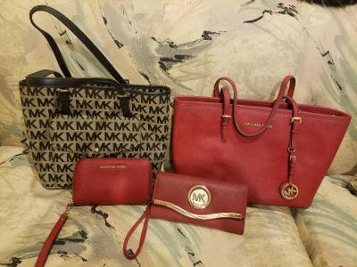 Michael Kors pocketbook tote and wallets