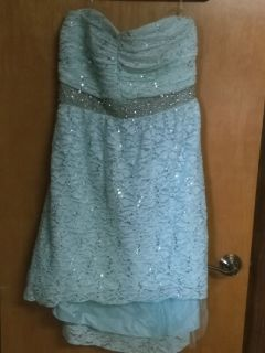 Mint green Prom/Homecoming dress
