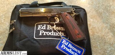 For Sale: Ed Brown Signature Model