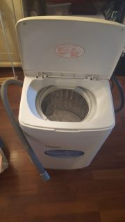 Haier Portable Washing Machine with Spin Dryer Automatic Washing Machine